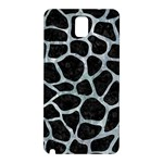 SKIN1 BLACK MARBLE & ICE CRYSTALS Samsung Galaxy Note 3 N9005 Hardshell Back Case