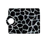 SKIN1 BLACK MARBLE & ICE CRYSTALS Kindle Fire HD (2013) Flip 360 Case