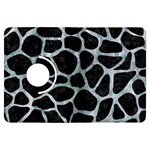 SKIN1 BLACK MARBLE & ICE CRYSTALS Kindle Fire HDX Flip 360 Case