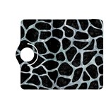 SKIN1 BLACK MARBLE & ICE CRYSTALS Kindle Fire HDX 8.9  Flip 360 Case