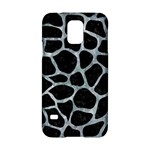 SKIN1 BLACK MARBLE & ICE CRYSTALS Samsung Galaxy S5 Hardshell Case