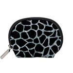 SKIN1 BLACK MARBLE & ICE CRYSTALS Accessory Pouches (Small)