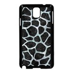 SKIN1 BLACK MARBLE & ICE CRYSTALS Samsung Galaxy Note 3 Neo Hardshell Case (Black)