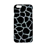 SKIN1 BLACK MARBLE & ICE CRYSTALS Apple iPhone 6/6S Hardshell Case