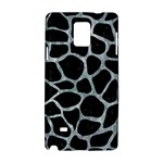 SKIN1 BLACK MARBLE & ICE CRYSTALS Samsung Galaxy Note 4 Hardshell Case