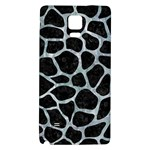 SKIN1 BLACK MARBLE & ICE CRYSTALS Galaxy Note 4 Back Case