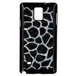 SKIN1 BLACK MARBLE & ICE CRYSTALS Samsung Galaxy Note 4 Case (Black)
