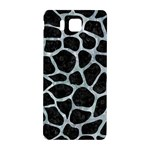 SKIN1 BLACK MARBLE & ICE CRYSTALS Samsung Galaxy Alpha Hardshell Back Case