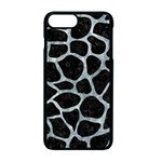 SKIN1 BLACK MARBLE & ICE CRYSTALS Apple iPhone 7 Plus Seamless Case (Black)