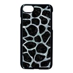 SKIN1 BLACK MARBLE & ICE CRYSTALS Apple iPhone 7 Seamless Case (Black)