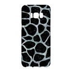 SKIN1 BLACK MARBLE & ICE CRYSTALS Samsung Galaxy S8 Hardshell Case