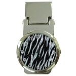 SKIN3 BLACK MARBLE & ICE CRYSTALS (R) Money Clip Watches