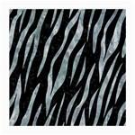 SKIN3 BLACK MARBLE & ICE CRYSTALS (R) Medium Glasses Cloth (2-Side)