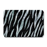 SKIN3 BLACK MARBLE & ICE CRYSTALS (R) Small Doormat
