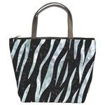 SKIN3 BLACK MARBLE & ICE CRYSTALS (R) Bucket Bags