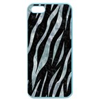 SKIN3 BLACK MARBLE & ICE CRYSTALS (R) Apple Seamless iPhone 5 Case (Color)