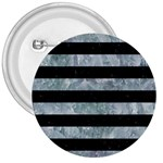 STRIPES2 BLACK MARBLE & ICE CRYSTALS 3  Buttons