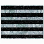 STRIPES2 BLACK MARBLE & ICE CRYSTALS Jewelry Bags