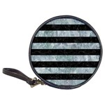 STRIPES2 BLACK MARBLE & ICE CRYSTALS Classic 20-CD Wallets