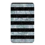 STRIPES2 BLACK MARBLE & ICE CRYSTALS Memory Card Reader