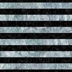 STRIPES2 BLACK MARBLE & ICE CRYSTALS Magic Photo Cubes