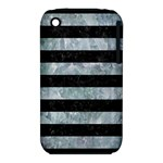 STRIPES2 BLACK MARBLE & ICE CRYSTALS iPhone 3S/3GS