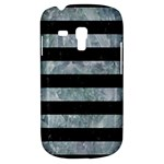 STRIPES2 BLACK MARBLE & ICE CRYSTALS Galaxy S3 Mini