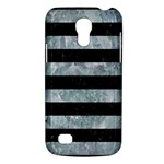 STRIPES2 BLACK MARBLE & ICE CRYSTALS Galaxy S4 Mini