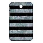 STRIPES2 BLACK MARBLE & ICE CRYSTALS Samsung Galaxy Tab 3 (7 ) P3200 Hardshell Case