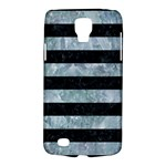 STRIPES2 BLACK MARBLE & ICE CRYSTALS Galaxy S4 Active
