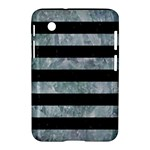 STRIPES2 BLACK MARBLE & ICE CRYSTALS Samsung Galaxy Tab 2 (7 ) P3100 Hardshell Case