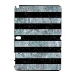 STRIPES2 BLACK MARBLE & ICE CRYSTALS Galaxy Note 1
