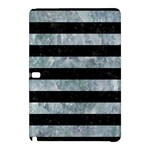 STRIPES2 BLACK MARBLE & ICE CRYSTALS Samsung Galaxy Tab Pro 10.1 Hardshell Case