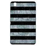 STRIPES2 BLACK MARBLE & ICE CRYSTALS Samsung Galaxy Tab Pro 8.4 Hardshell Case