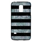 STRIPES2 BLACK MARBLE & ICE CRYSTALS Galaxy S5 Mini