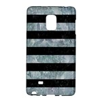 STRIPES2 BLACK MARBLE & ICE CRYSTALS Galaxy Note Edge
