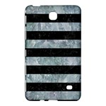 STRIPES2 BLACK MARBLE & ICE CRYSTALS Samsung Galaxy Tab 4 (8 ) Hardshell Case