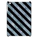 STRIPES3 BLACK MARBLE & ICE CRYSTALS Apple iPad Mini Hardshell Case