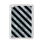 STRIPES3 BLACK MARBLE & ICE CRYSTALS iPad Mini 2 Enamel Coated Cases