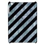 STRIPES3 BLACK MARBLE & ICE CRYSTALS (R) Apple iPad Mini Hardshell Case