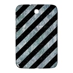 STRIPES3 BLACK MARBLE & ICE CRYSTALS (R) Samsung Galaxy Note 8.0 N5100 Hardshell Case