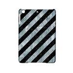 STRIPES3 BLACK MARBLE & ICE CRYSTALS (R) iPad Mini 2 Hardshell Cases