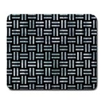 WOVEN1 BLACK MARBLE & ICE CRYSTALS (R) Large Mousepads