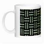 WOVEN1 BLACK MARBLE & ICE CRYSTALS (R) Night Luminous Mugs