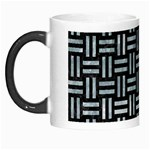 WOVEN1 BLACK MARBLE & ICE CRYSTALS (R) Morph Mugs