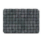 WOVEN1 BLACK MARBLE & ICE CRYSTALS (R) Small Doormat