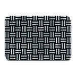 WOVEN1 BLACK MARBLE & ICE CRYSTALS (R) Plate Mats