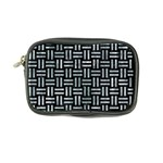 WOVEN1 BLACK MARBLE & ICE CRYSTALS (R) Coin Purse