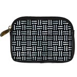 WOVEN1 BLACK MARBLE & ICE CRYSTALS (R) Digital Camera Cases