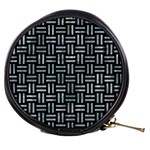 WOVEN1 BLACK MARBLE & ICE CRYSTALS (R) Mini Makeup Bags
